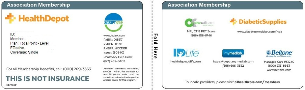 Focal Point Association card