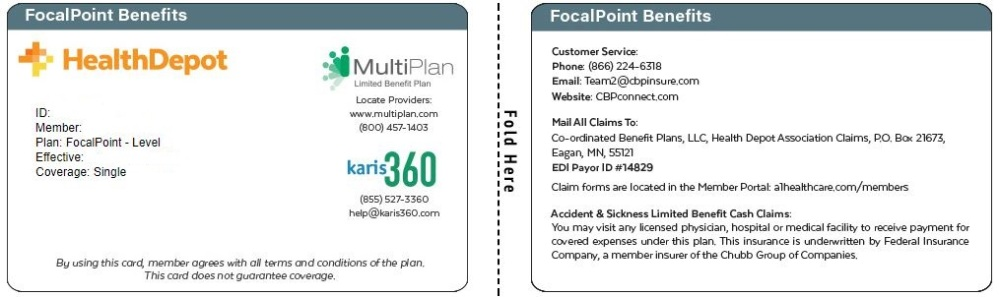Focal Point ID card